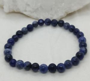 sodalite brésil bracelet pierre homme femme
