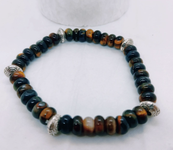 bracelet créateur france oeil de tigre