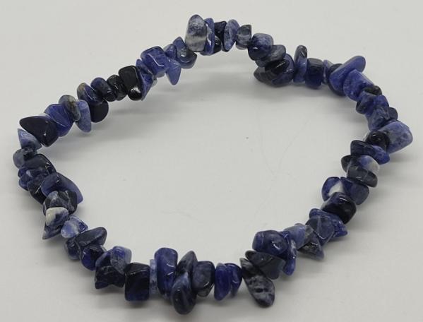 bracelet pierre lithothérapie sodalite brésil anxiété stress cri