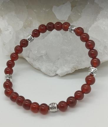 bracelet pierre lithothérapie cornaline