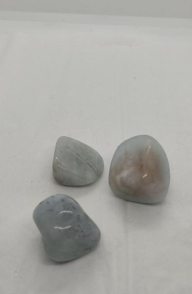 pierre roulée amazonite brésil