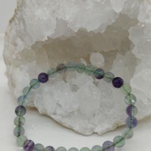 bracelet perle pierre fluorine fluorite