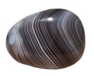 pierre lithothérapie agate botswana