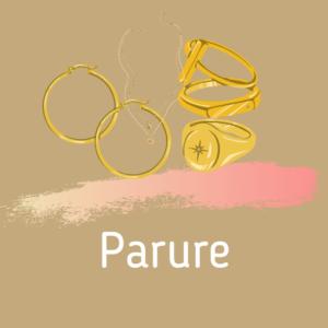 Parures de bijoux en pierre lithotherapie